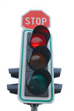 traffic light poster