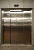 elevator door poster