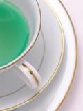 green herbal tea 6 poster
