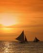 Leinwandbild Motiv sailing away