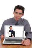 internet fraud poster
