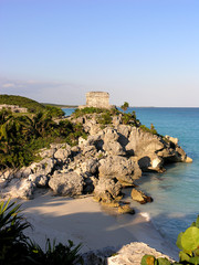 the mayan ruin at tulum