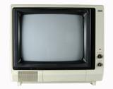 vintage television poster