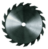 isolated circular saw blade poster