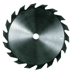 isolated circular saw blade