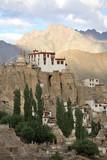 lamayuru monastery, monastery in the himalayas, la poster