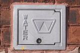 water meter cover poster