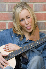 cheeky guitarist