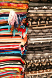 peruvian wool blankets poster