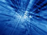 Fototapety blue cyberspace
