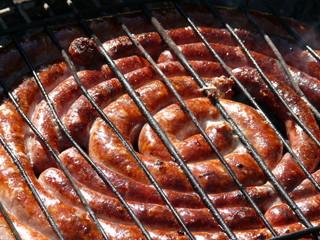 saucisses de toulouse grillées