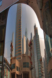 the reflected city poster