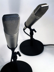 two studio mics