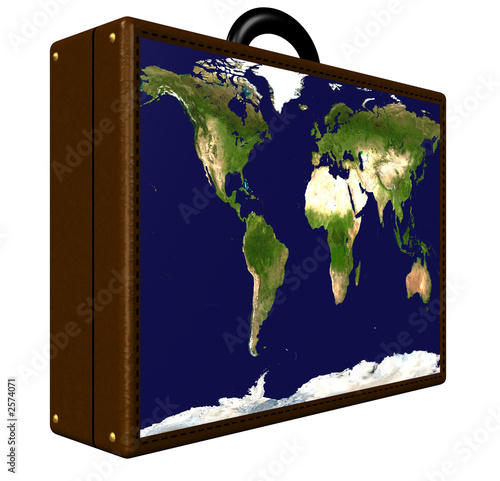 poster of world travel