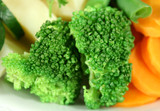 steamed broccoli poster
