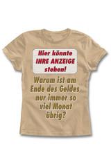 fiktiver t-shirt-print: warum ist am ende ...