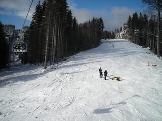 skiing hills