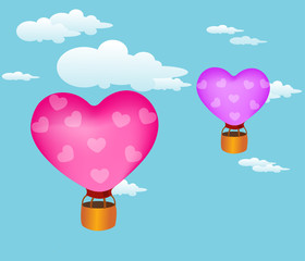 balloon hearts !