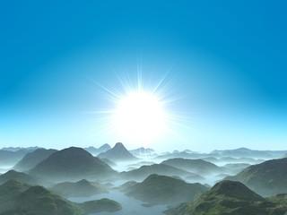 fantastic sunrise