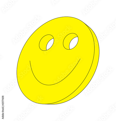 canvas print picture smiley