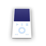 mp3 player poster