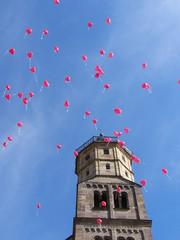luftballons auf der reise