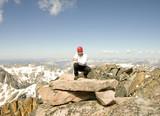 summit of granite peak poster