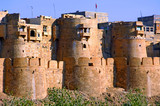 india, rajasthan, jaisalmer: the fort poster