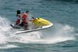 jet skier racing