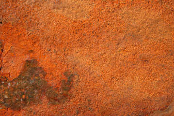 rusty metal surface background.