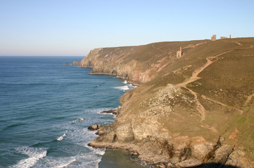 cornwall cliffs
