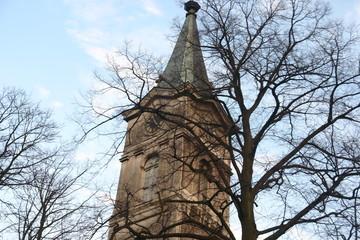 wisla church tower