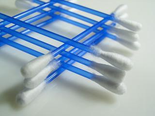 cotton hygienic swabs