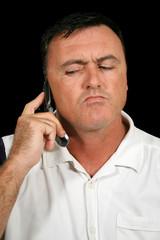 suspicious cell phone man