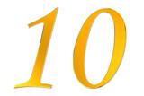 goldene 10 - golden ten poster