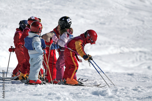 ski ecole enfant - 2598617