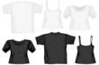 diverse shirts