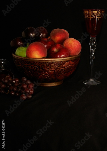 fruit bowl portrait