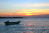 Fototapety sunset above the sea