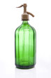 ancient green siphon bottle