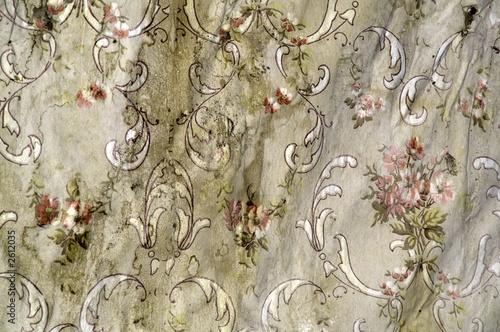 flowered wallpaper © Sue Smith