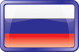 russia flag icon poster