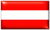 österreich fahne austria flag poster