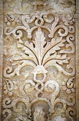 detail - ruins of ancient city palmyra