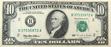 ten dollars poster