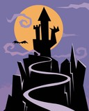 castle of nightmares poster