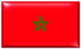 marokko fahne morocco flag poster