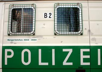 polizei-auto in berlin