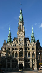 neo-gothic town hall