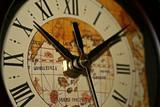 indoor clock (left) poster